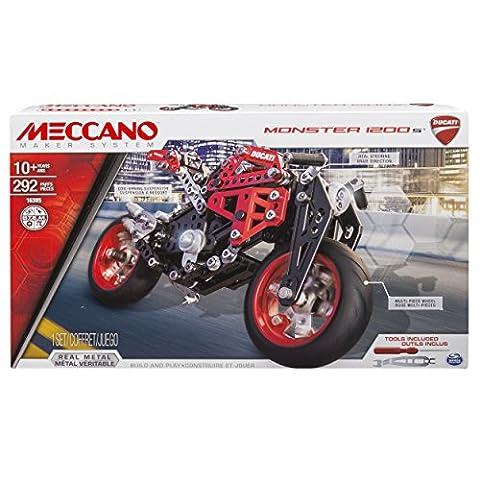 Spin Master 6027038 - Meccano - Ducati Motorad (Moto Ducati)
