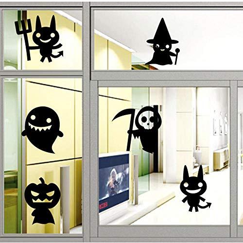 Wandaufkleber Aufkleber Wandsticker Stilvolle 42 * 52Cm Halloween Dekoration Wandaufkleber_Glas Fenster Wohnzimmer Schlafzimmer Dekoration - Halloween Fenster Festhalten