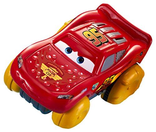 Mattel - Disney Pixar Cars - Hydro Wheels - Lightning McQueen - Schwimmendes Fahrzeug 8 cm