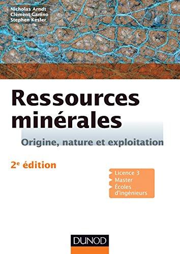 Ressources minérales - 2e éd. - Cours et exercices corrigés