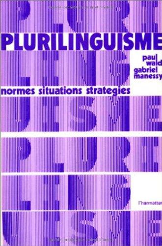 Plurilinguisme : normes, situations, stratégies