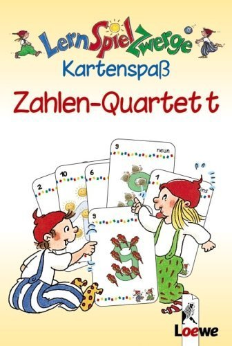 Lernspielzwerge - Kartenspass: Zahlen-Quartett by Unknown(2006-03-22)