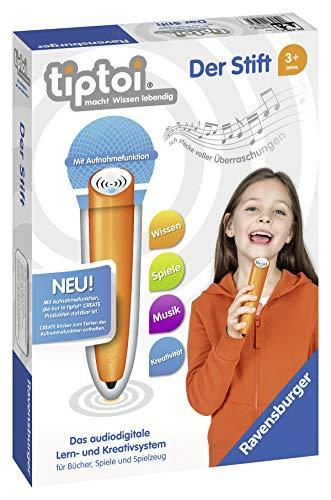 Ravensburger tiptoi Der Stift von Ravensburger ab 3 Jahren, Das audiodigitale Lern- und Kreativsystem mit dem Kinder die Welt spielerisch entdecken
