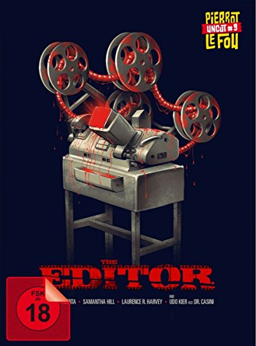 The Editor (uncut) - Limited Edition Mediabook [Blu-ray + DVD]