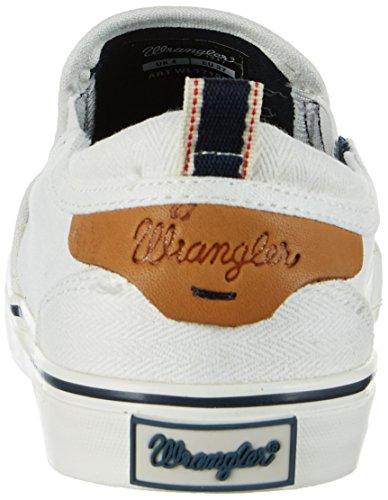 Wrangler - Icon Slip On, Scarpe da ginnastica Donna Bianco