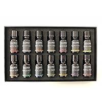 Yelewen Aromatherapie Set 14 Ätherische Öle 100% Reine & Therapeutische Duftöle Geschenk-Set -14/10 ml Kit (Pfefferminze... preisvergleich bei billige-tabletten.eu