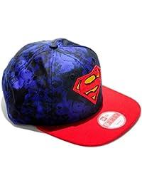 1cc52a0c6cff4 A NEW ERA Gorra 9Forty Hero Slick Superman Original Azul Rojo