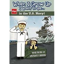 When I Grow Up I Want To Be...in the U.S. Navy!: Noah Tours an Aircraft Carrier!