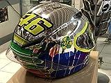 Casco para Moto AGV integral, de carrera, de Valentino Rossi,de Mugello, edición limitada de...
