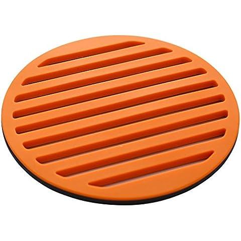pad creative silicone caldo/Tappetini di silicone spessa/ pad caldo/ tappetino/ Ciotola pad/Tovaglietta-B diametro17cm(7inch) - Pad Lemonade