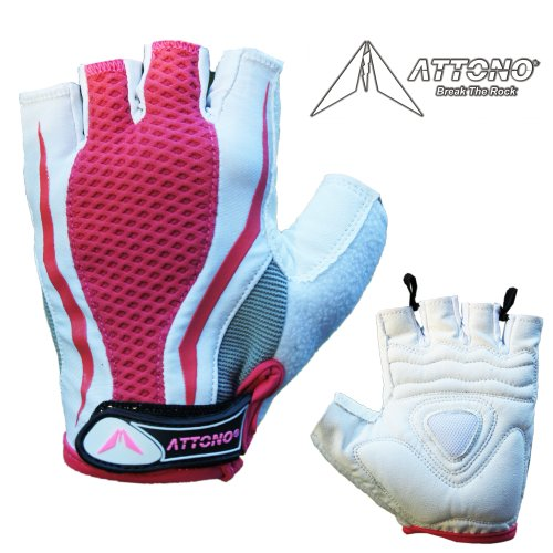 Fitnesshandschuhe Damen Nordic Walking Sommer Fahrrad Handschuhe Größen: 6-8
