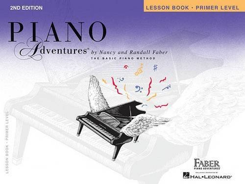 Piano Adventures : Lesson Book - Primer Level (2nd Edition): Noten, Sammelband, Lehrmaterial für Klavier (Piano-instrument)