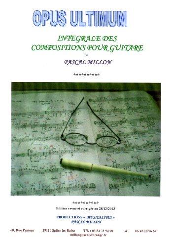Téléchargement Intégrale des pièces pour Guitare - Livre 01 epub pdf
