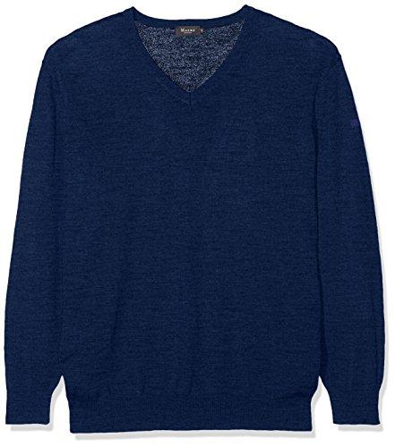 Maerz Herren Pullover 490400 Blau (True Blue 368)