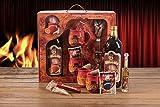 Feuerzangentasse Geschenkset Wurzelholz-Design Feuerzangenbowle Rühmann