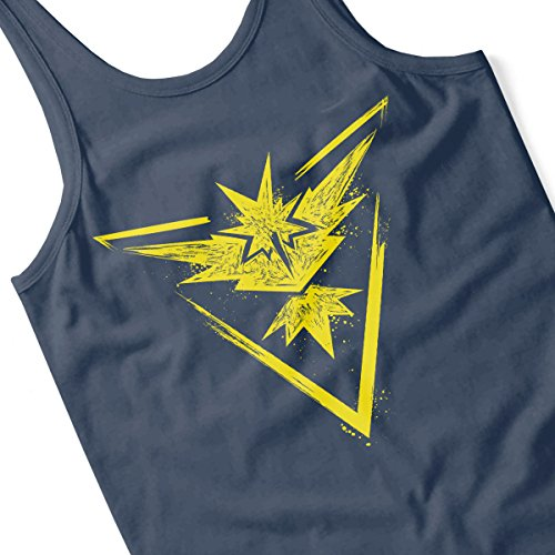 Pokemon Zapdos Instinct Men's Vest Navy Blue