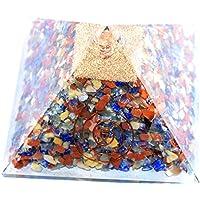 Pyramid Orgonite Mix 5 inch Gemstone Chakra Balancing Reiki Healing +1 Amethyst Pointer Pendant preisvergleich bei billige-tabletten.eu