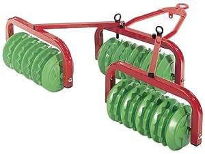 Rolly Toys rollyRoller Walzen für Trettraktoren (für Kinder von 3 - 10 Jahre, Metall-Kunststoffkombination) 123841