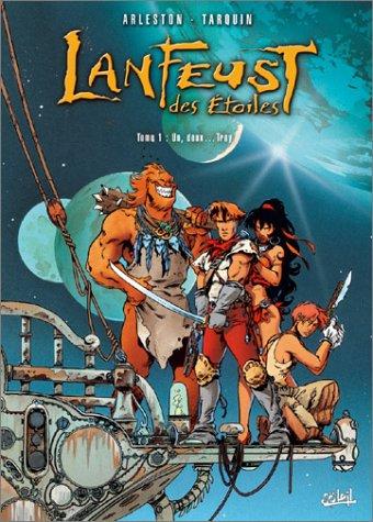 2 BD pour le prix d'1 : Lanfeust des Étoiles T1 + Trolls de Troy T4 gratuit