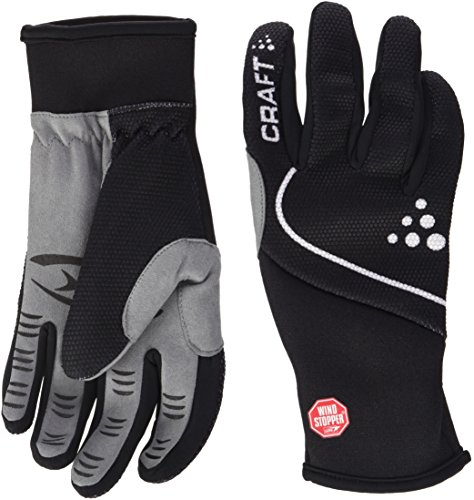 Craft Handschuh Power Windstopper Gloves, Black, 9/M, 193384-9900-9