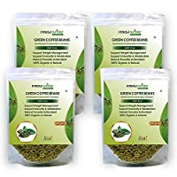 Purely Nature Green Coffee Beans Unroasted Arabica Pack of 4 (800Gm)