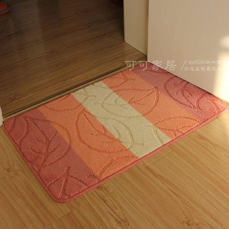 JinYiDian'Shop-Matten Wasseraufnahme Matten Küche Badezimmer Slip-Proof Matte, Staub Remover, 50 * 80 cm, rosa (Staub Remover)