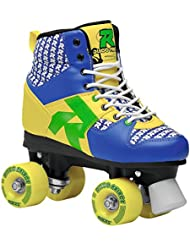 Roces Disco Palace Roller Skates multicolor Blu/Giallo Talla:41