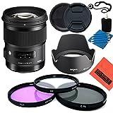 Sigma 50mm f1.4DG HSM Art Objektiv für Nikon DSLR Kameras–Starter Kit