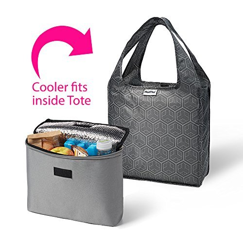 rume-bags-mini-tote-with-2cool-insulated-lunch-bag-cooler-set-of-2-fletcher-by-rume-bags
