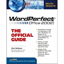 WordPerfect X: The Official Guide (CorelPRESS) by Alan R. Neibauer (2001-05-01)
