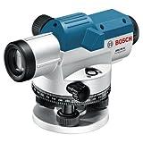 Bosch 061599404P GOL 20g Professional Optik Disk Nivelliergeraet taşıma çantası ile üç ayaklı sehpa BT 160, ölçüm şeridi gr 500ve aksesuarı