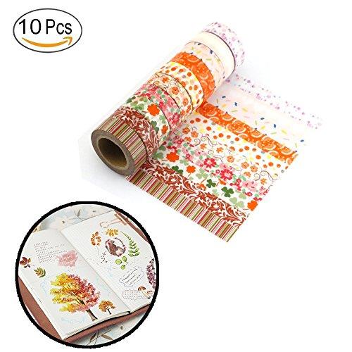 ashi Tapes für Scrapbooking Arts Crafts Büro Party Supplies und Geschenkverpackungen (Office-halloween-deko-ideen)