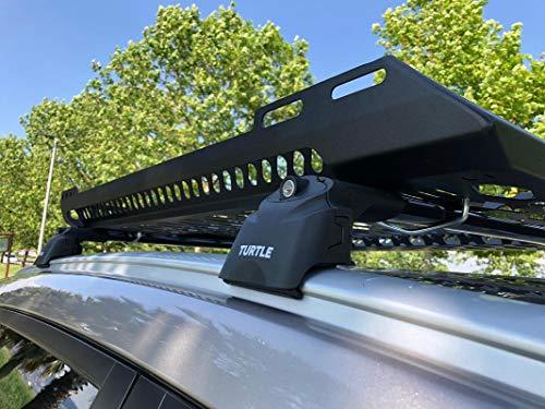 LTS AUTO Dachgepäckträger für Hyundai IX-35 SUV, mit Dachkörbchen, abschließbar, Schwarz