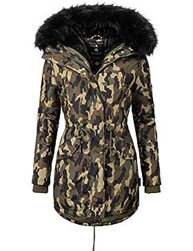 Marikoo Tiramisu Mix & Match - Abrigo de invierno con 1 chaqueta y complementos combinables de 3 colores para...