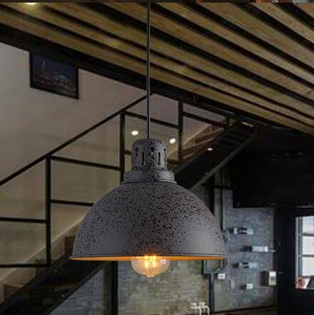 MSAJ-American retrò industriale stile loft lampadari di ristoranti, pub, caffè ferro battuto antichi pot lampada da camera singola testa 250*290mm
