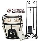 Amphora Tandoor Gartenkamin Feuerschale Feuertonne Kamin Gartenofen Terrassenofen