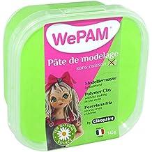 Cleopatre WePAM - Pasta de porcelana fría, 145 gr, verde flúor