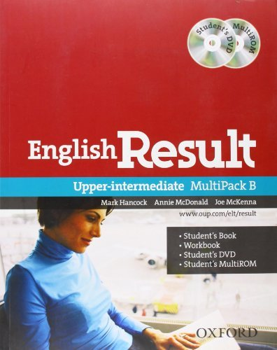 English Result: Upper Intermediate Multipack B by Mark Hancock (December 15,2011)