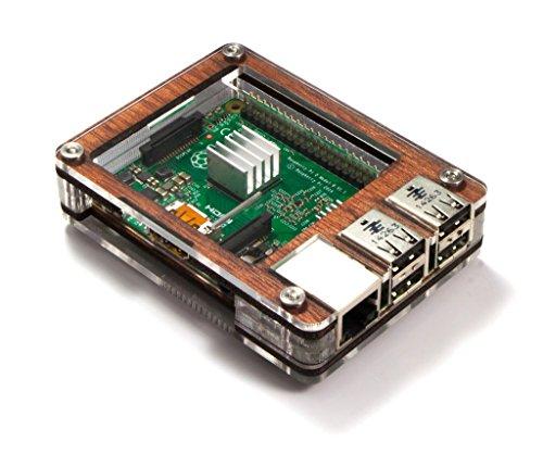 C4Labs Zebra Case-Raspberry Pi B + und 2B (Holz)
