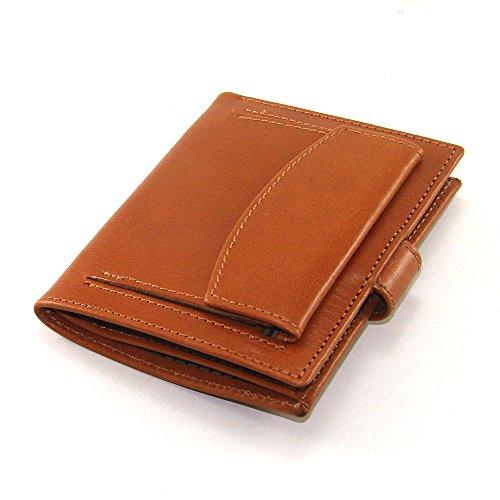 Cartera para hombre, ideal para regalo, hecho a mano en España, marca casanova, hecha en piel de vacuno, Ref. 10164 Cuero