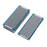 DealMux 7 PC-Single Side Prototype PCB Konservierte Universal-Brotschneidebrett-Blau 3 x 7cm FR4