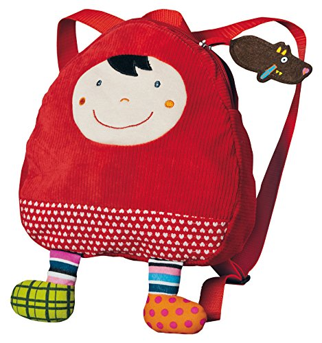 Ebulobo T 'es fou louloup Rucksack rot Riding Hood (Der Red Riding Hood Wolf Und Little)