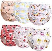 6 Pack Potty Training Underwear Boys Potty Training Underwear for Girls Cloth Training Pants 2t 3t 4t 5t Train