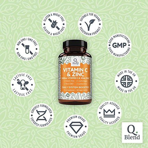 Zoom IMG-2 vitamina c 1200mg 120 capsule