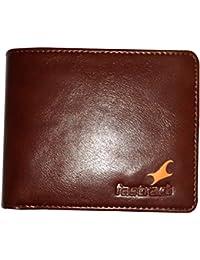 Fastrack Leather Wallet For Men & Boys – Dark Brown Color Coloured