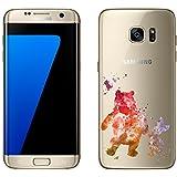 Samsung Galaxy S7 Edge cas par licaso® pour le modèle Winnie Aquarelle Ours Porcelet TPU Samsung S7 Edge silicone ultra-mince Protégez votre Samsung S7 Edge est élégant et couverture voiture cadeau