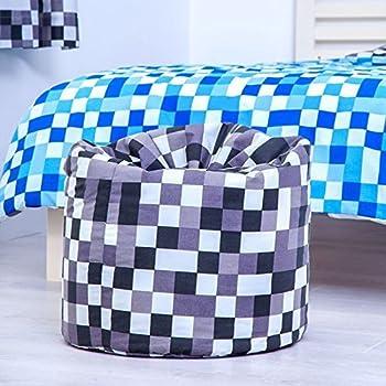 Groovy Ready Steady Bed Grey Pixels Design Childrens Filled Bean Inzonedesignstudio Interior Chair Design Inzonedesignstudiocom