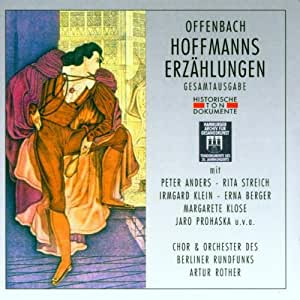 Offenbach: Hoffmanns Erzählungen (Gesamtaufnahme)deutsch) (Aufnahme Berlin 1946)
