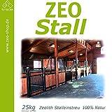 Zeo Stall 50 kg Mineralzusatz in Einstreu für Nutztiere (Körnung 1-2,5 mm)