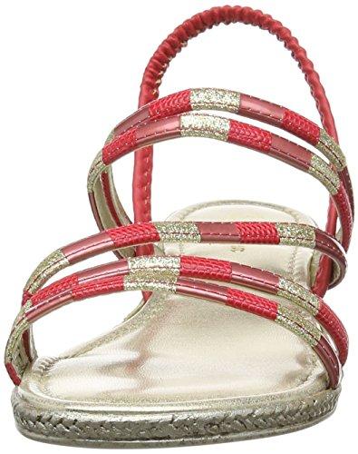 Lotus Bastia, Chaussures Popped Femme Rouge (multi Rouge)
